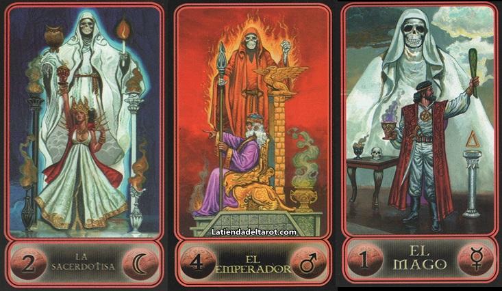 Tarot de la Santa Muerte «1ª Edición»***  